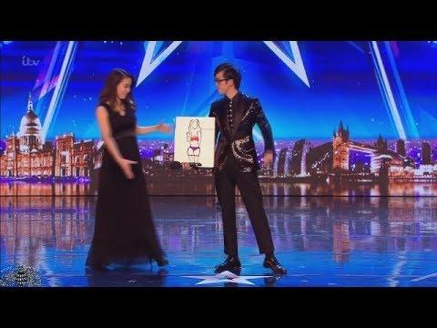 【字幕付】日本人マジシャン、ソラ氏がイギリスのオーディション番組で大活躍!