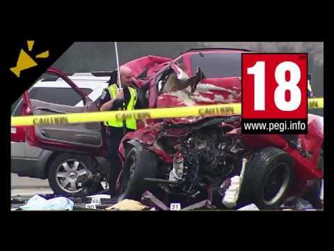 【閲覧注意】[ドラレコ] 衝撃!ロシアの激しい死の交通事故集