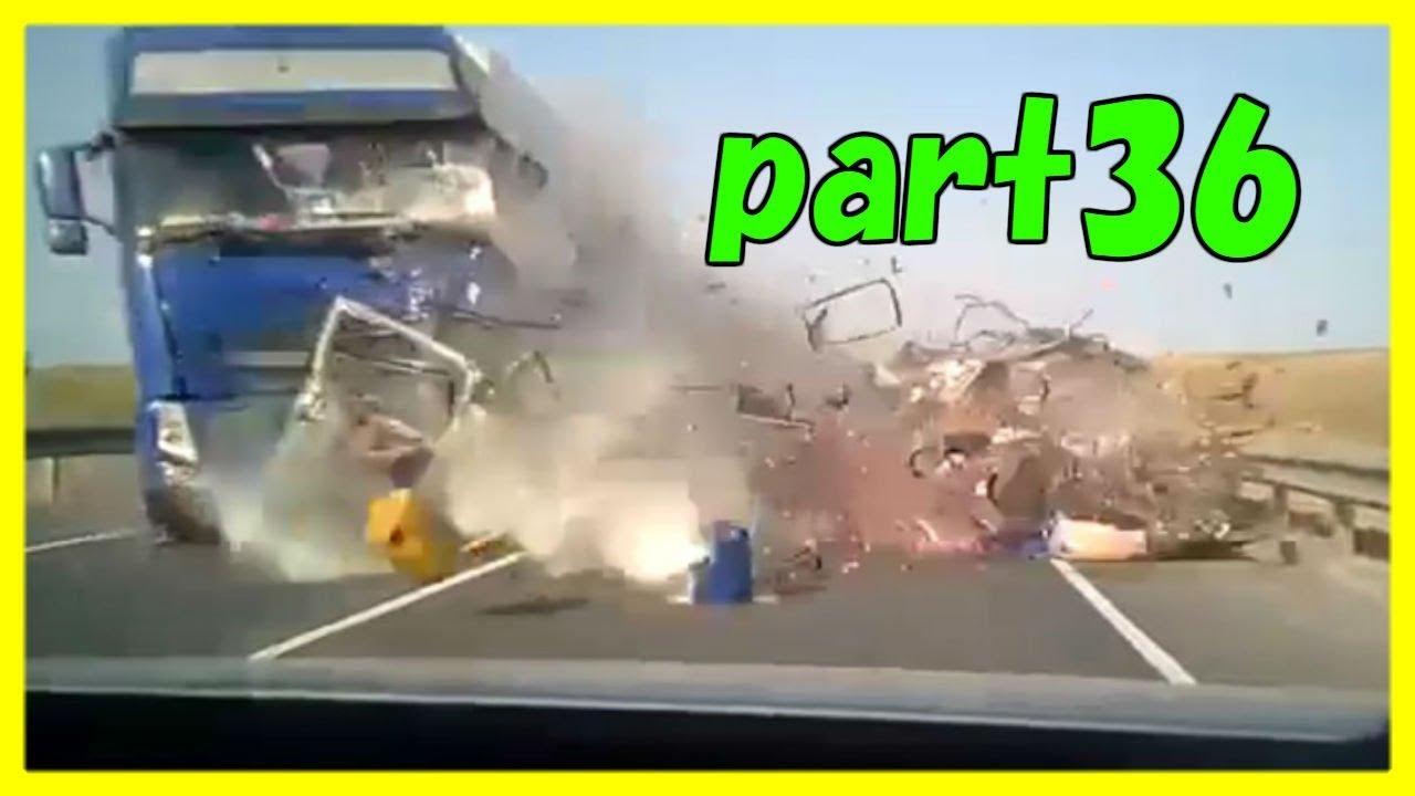 【ドラレコ】世界の交通重大事故集36 WORLD CAR CRASHES 36