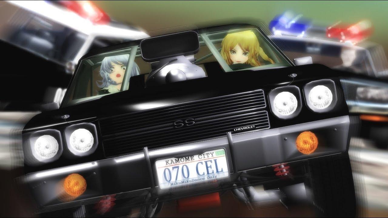 【東方MMD】レミリア日和2 その37「激闘!カーチェイス」