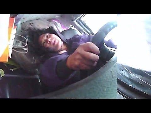 【衝撃】事故の瞬間に車内の様子を捉えた映像! その時ドライバーは!?
