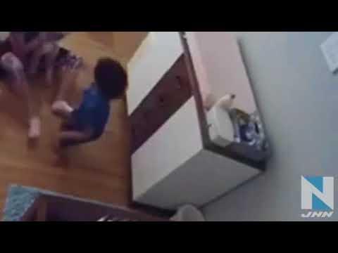 9歳のお兄ちゃん、赤ちゃんを見事キャッチ 米・フロリダ州