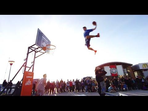 【神業】世界が震えた。神の動き!フリースタイルバスケ スーパープレイ動画【衝撃】