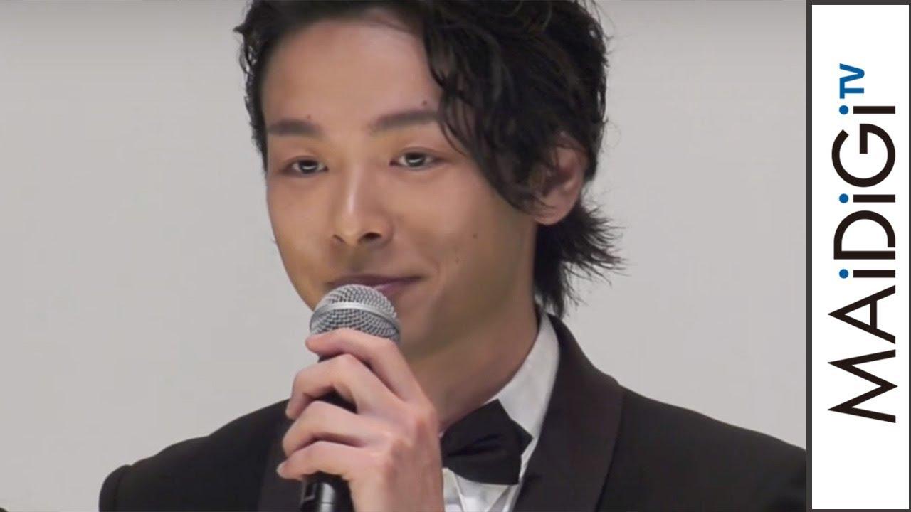 中村倫也、エキセントリックな役に「ダメだったら監督のせい」 映画「孤狼の血」完成披露試写会2