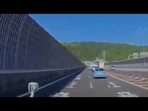 【ドラレコ】高速でこういうことすんの流行ってるんか!?ふざけんなよ。