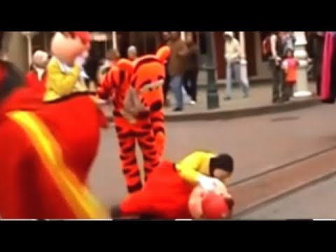 ディズニーの衝撃アクシデント・ハプニング映像まとめ
