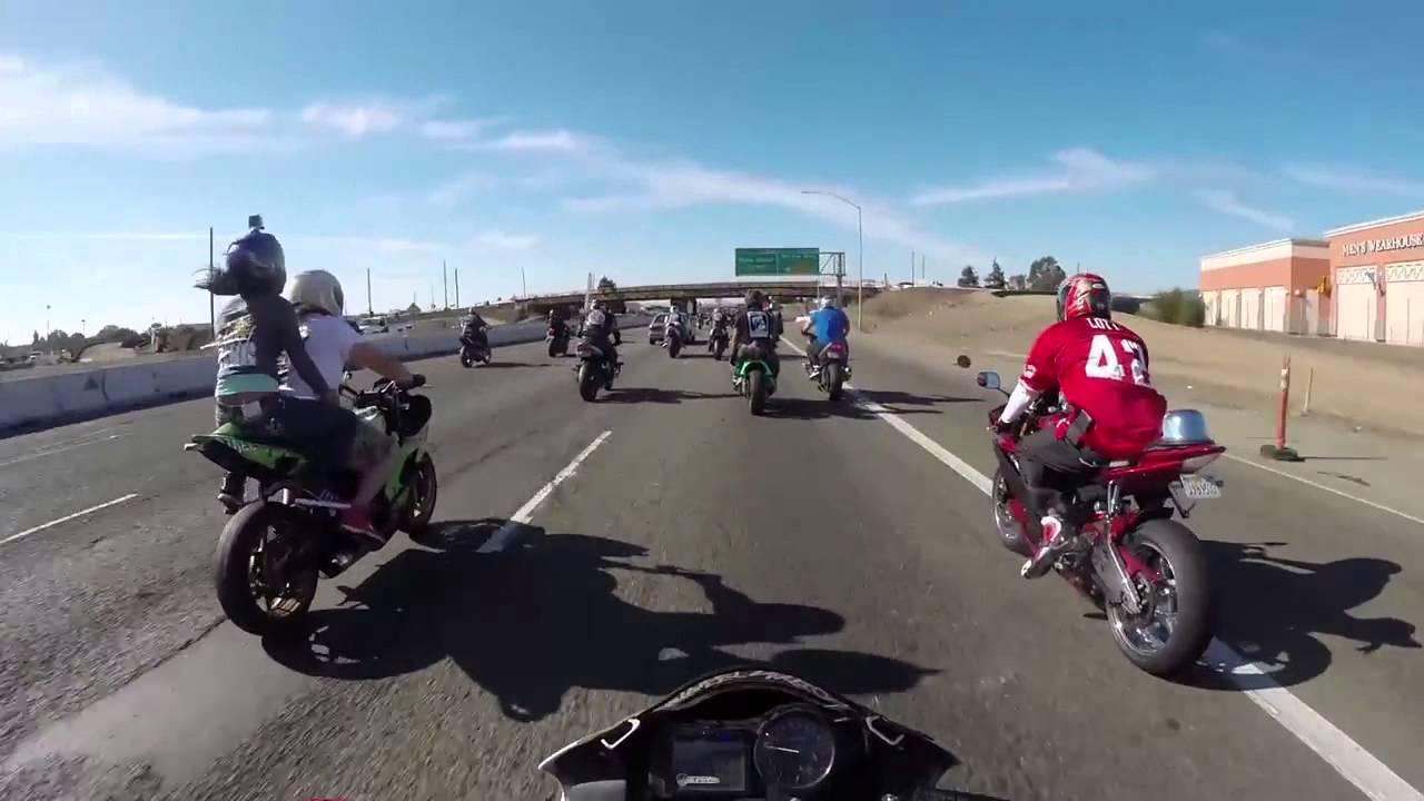 走り屋VS海外ライダー バイク