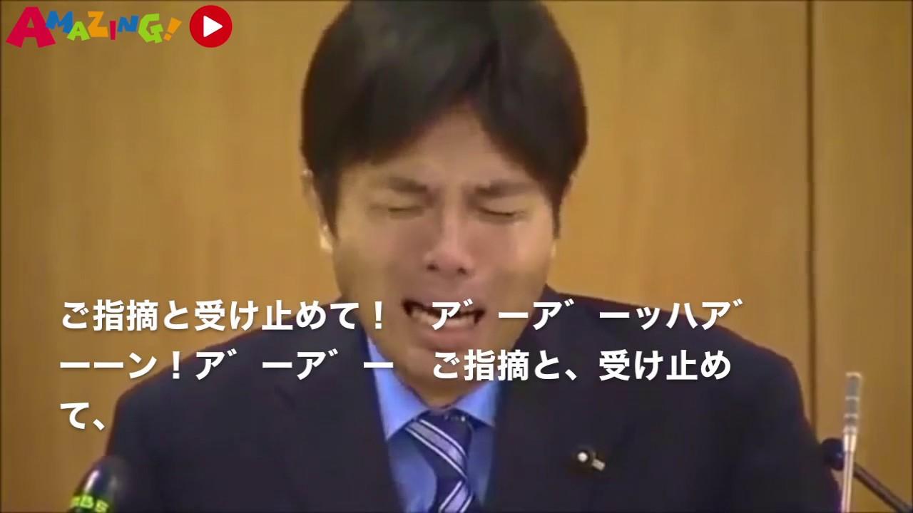 野々村竜太郎議員 号泣会見【日本語字幕付き】