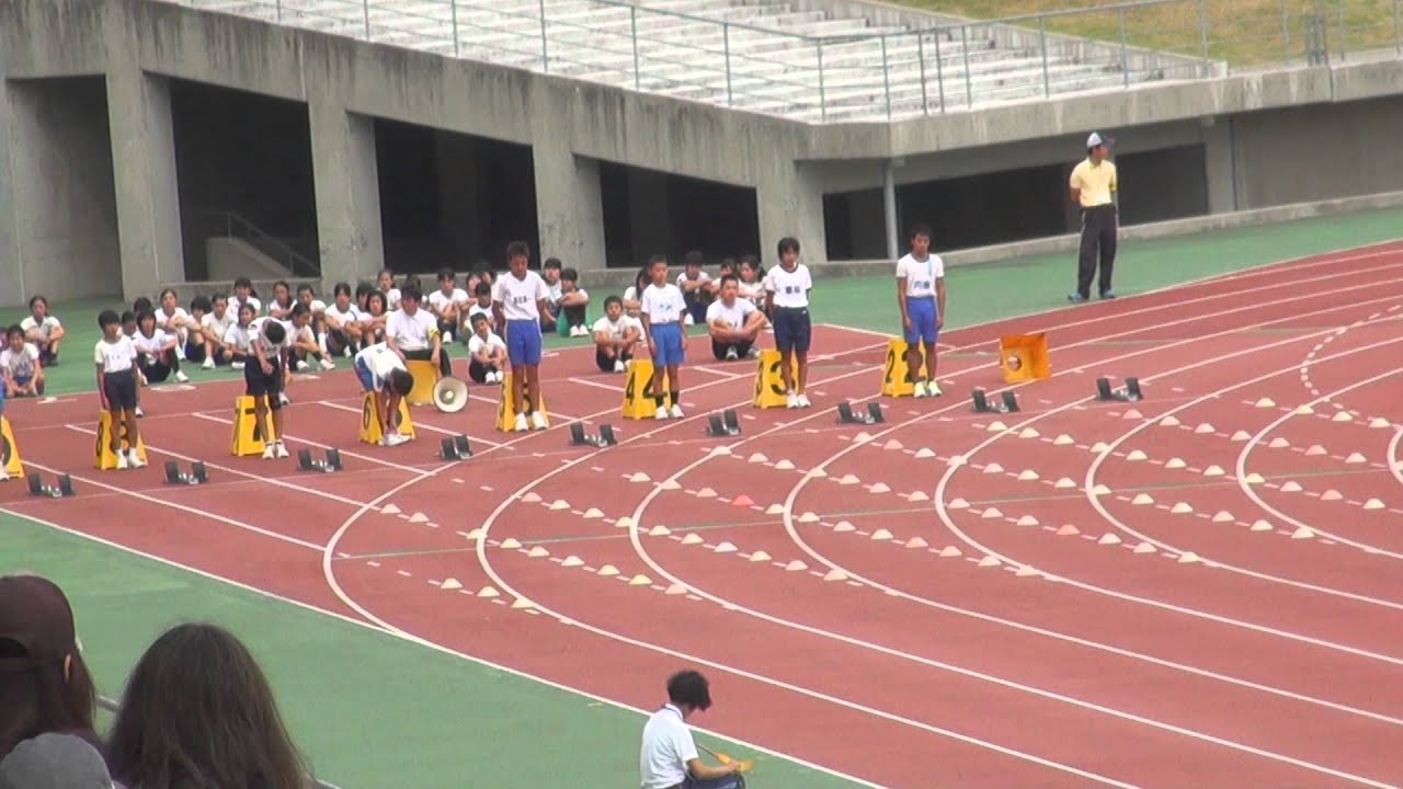 半端ない! 日本一速い小学生(100m走)  Wow! Japan's fastest school student
