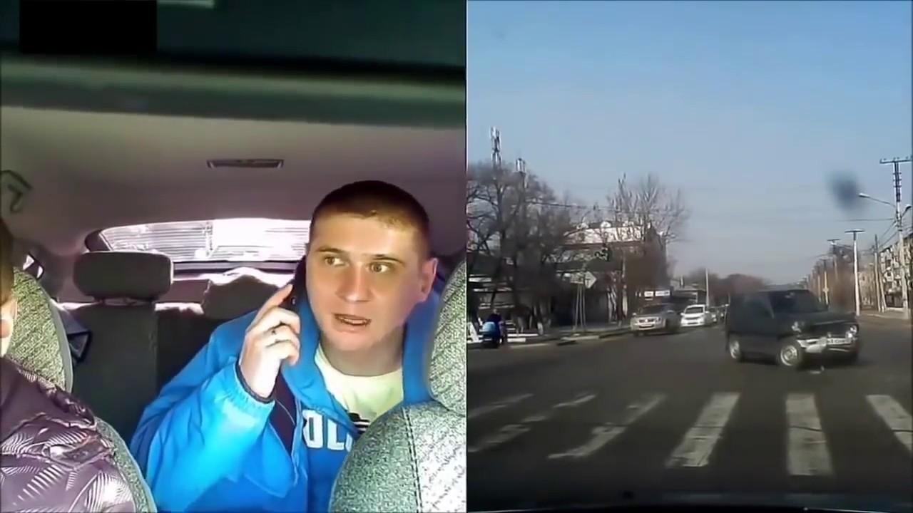 ドラレコ 事故 横転事故の瞬間! その時の車内の様子をドラレコが捉えていた!