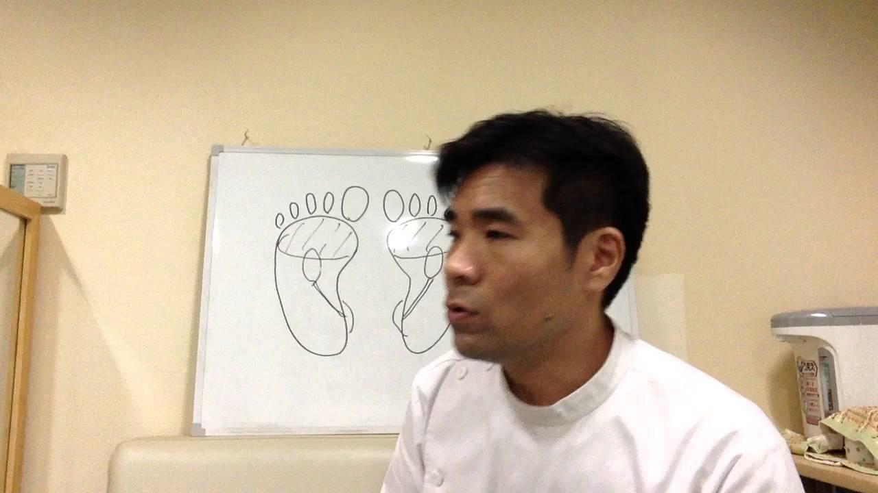 足の裏で肺と腎臓の状態を知る方法