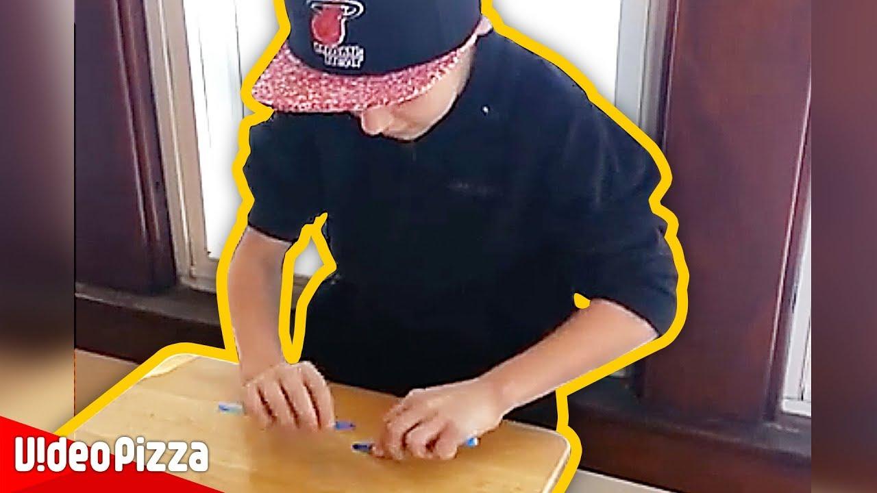 【衝撃】天才えんぴつドラマーうますぎwwww【Video Pizza】