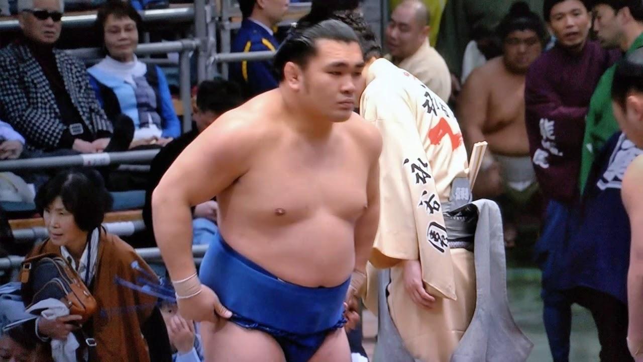 平成三十年大相撲春場所四日目 まるでレスリングのような