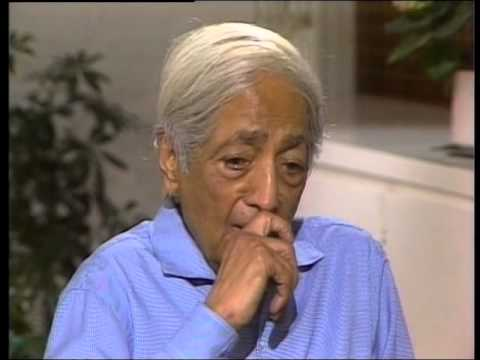 J. Krishnamurti – Ojai 1982 – Discussion with Scientists 2 – Psychological suffering