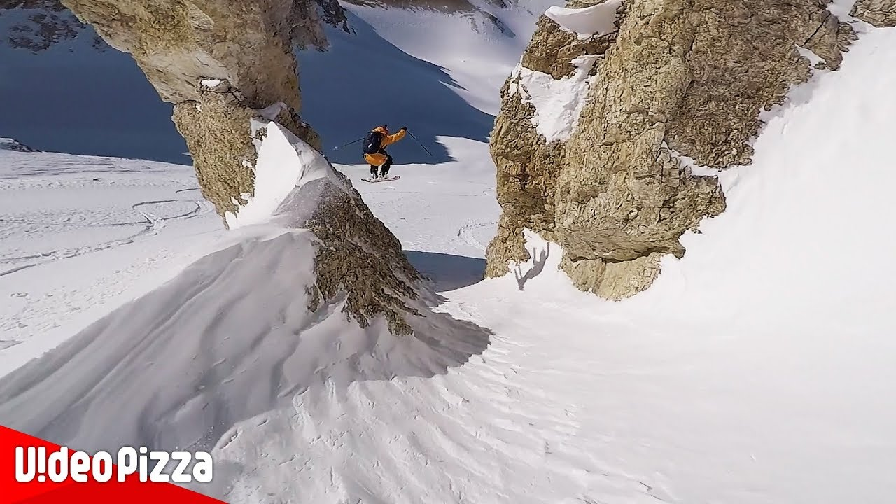 【スキー】神業 凄技 ダウンヒルやジャンプ連発!【Video Pizza】