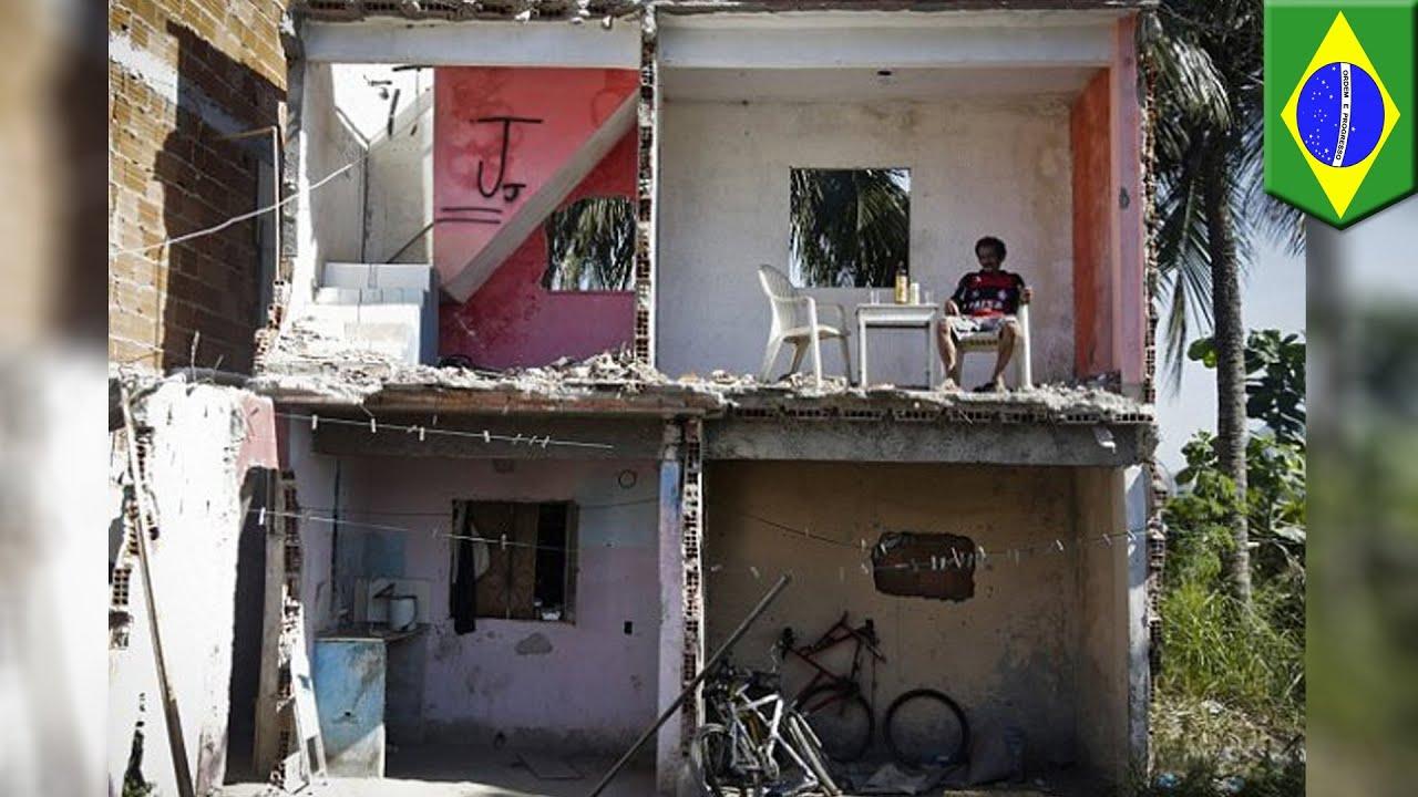 帰ったら家が半分に…ブラジル・財産分与で大騒動