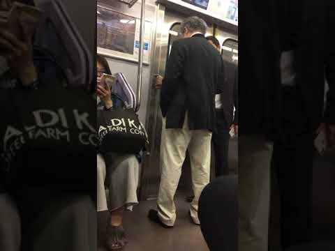 ヤクザが電車で一般人にキレる