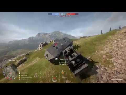 【BF1】新たな煽り…敵さんの重戦車を横転させ遊ぶ\(^O^)/