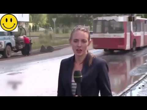 海外おもしろ映像 ロシアに住めば刺激的な毎日が送れます。