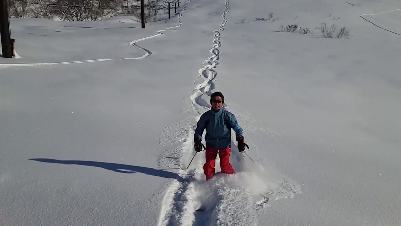 JAPOW 白馬乗鞍温泉スキー第10リフトスカイビュー・ゲレンデ