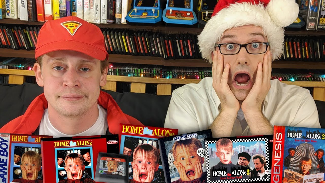 Home Alone Games with Macaulay Culkin – Angry Video Game Nerd (Episode 164)