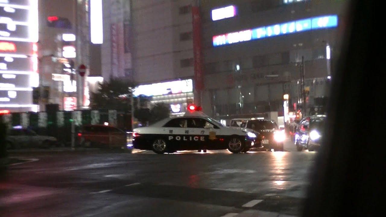 【警視庁】200系クラウンパトカー緊走!フットサイレン長すぎワロタ