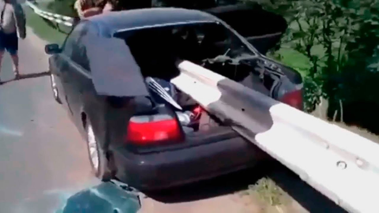 【衝撃】正面衝突の破壊力が怖すぎる…自動車事故まとめ【Auto Mania】#58