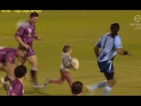 【衝撃】ラグビーの試合に4歳児が乱入した際の神対応がこちら!