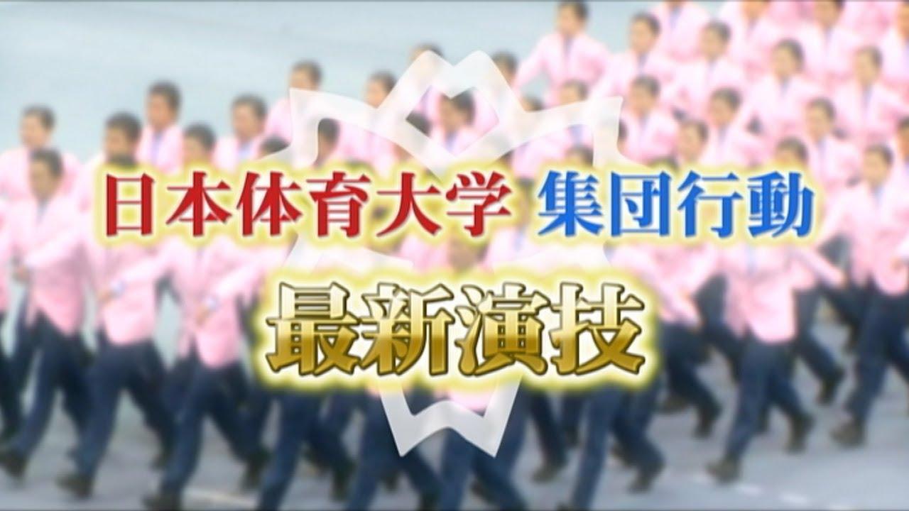 【集団行動】日本体育大学 最新演技