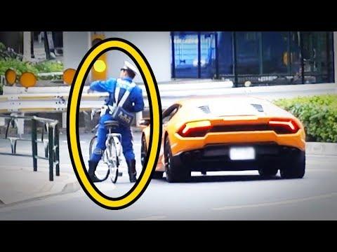 【海外の反応】衝撃!日本のチャリ警察官がランボルギーニに…次の瞬間!世界が仰天!外国人「誰かこれをアニメ化してくれwww」【すごい日本】