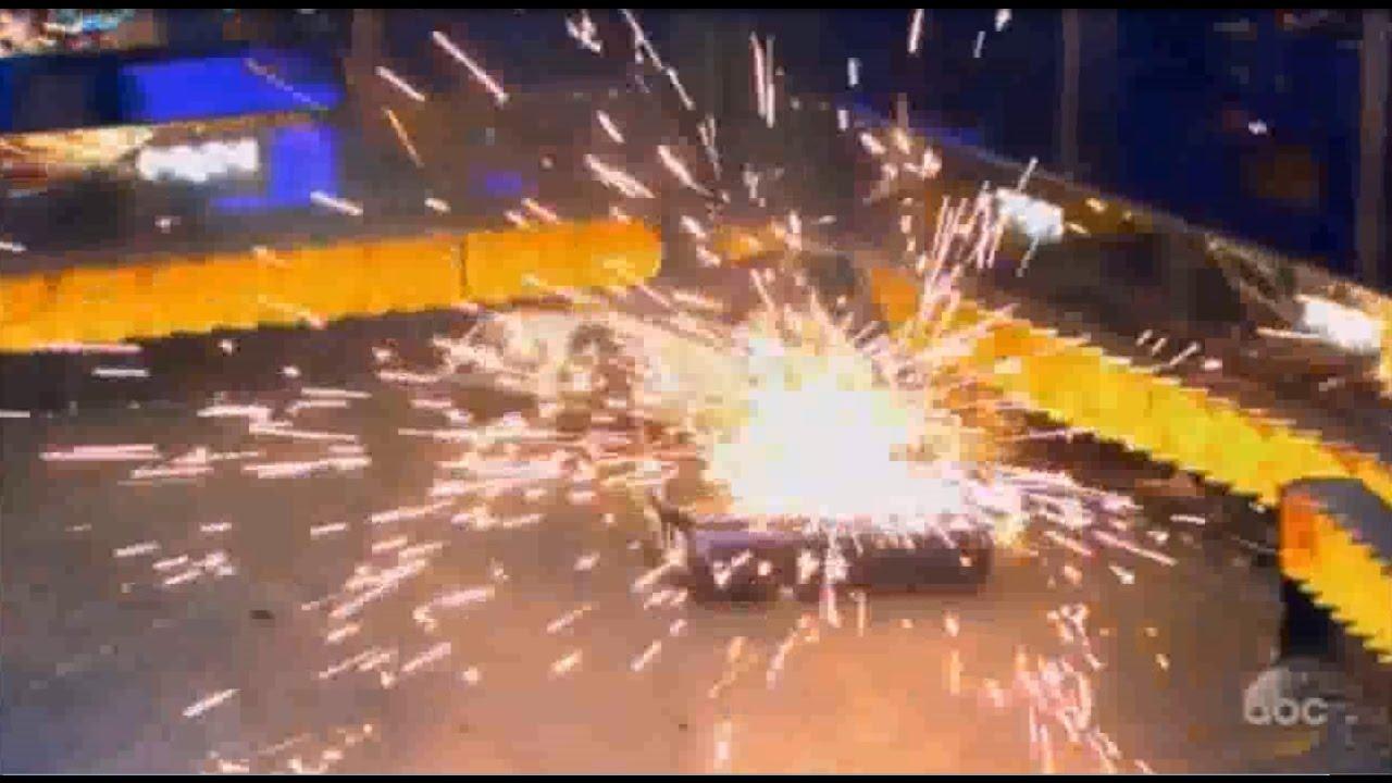 飛び散る火花!! 海外版ロボコン [battlebots] TOP10