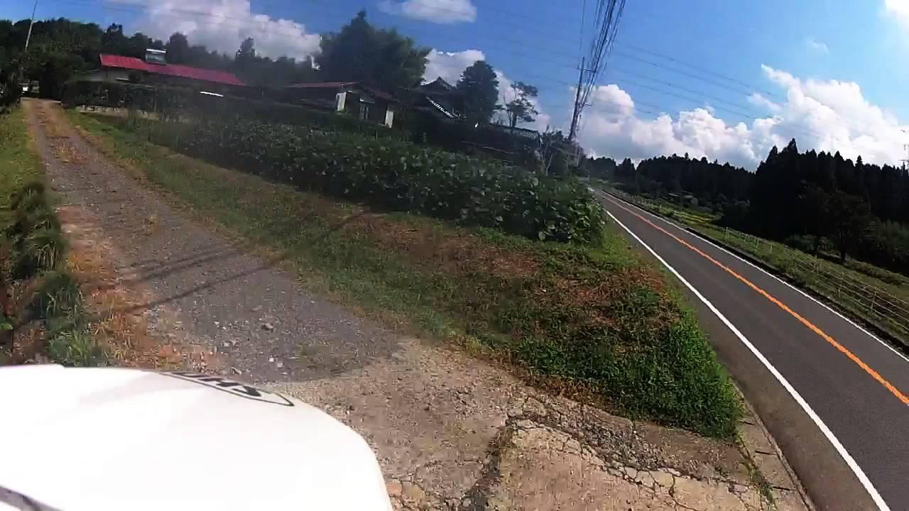 奇跡的に撮ってた事故。KTM690 Gopro