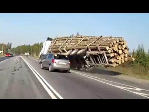 【トラック】2014年10月の交通事故動画まとめ。ドライブレコーダー