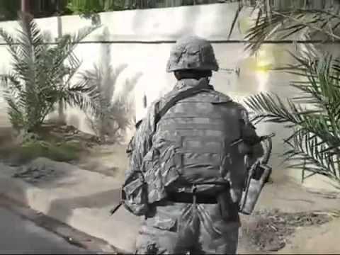 アメリカ陸軍の日常inイラク
