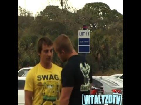 Vitaly: ジムの前でマッチョに喧嘩売ってみた
