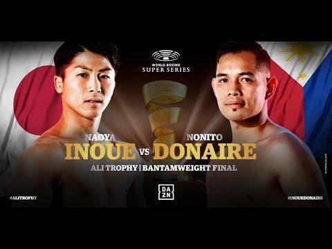 試合動画 | ボクシング | WBSS決勝 | 井上尚弥 vs ノニト・ドネア | Naoya Inoue vs Nonito Donaire | 激闘の軌跡