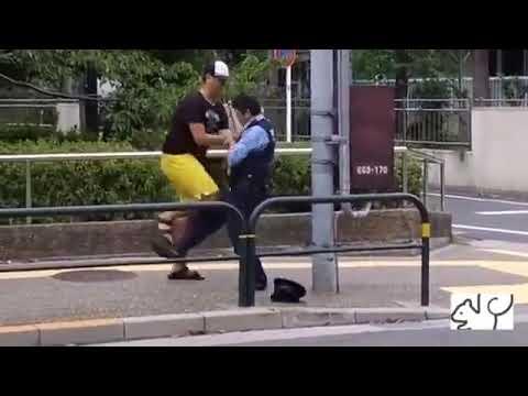 この大男が警察に逆らった末路にワロタwww【面白】