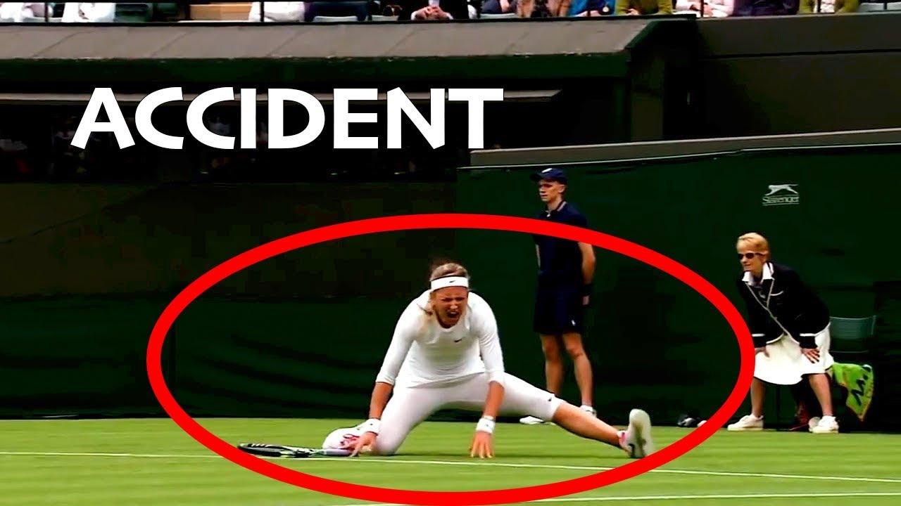 【テニス】これは危ない…試合で起こった最悪のアクシデント…【神業】Worst Painful Accident