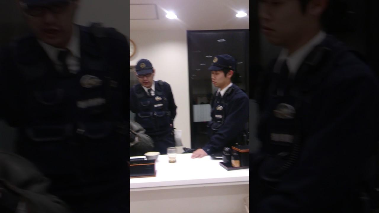DQN?吉野家で遭遇、酔っぱらいのおっさんVS警察官