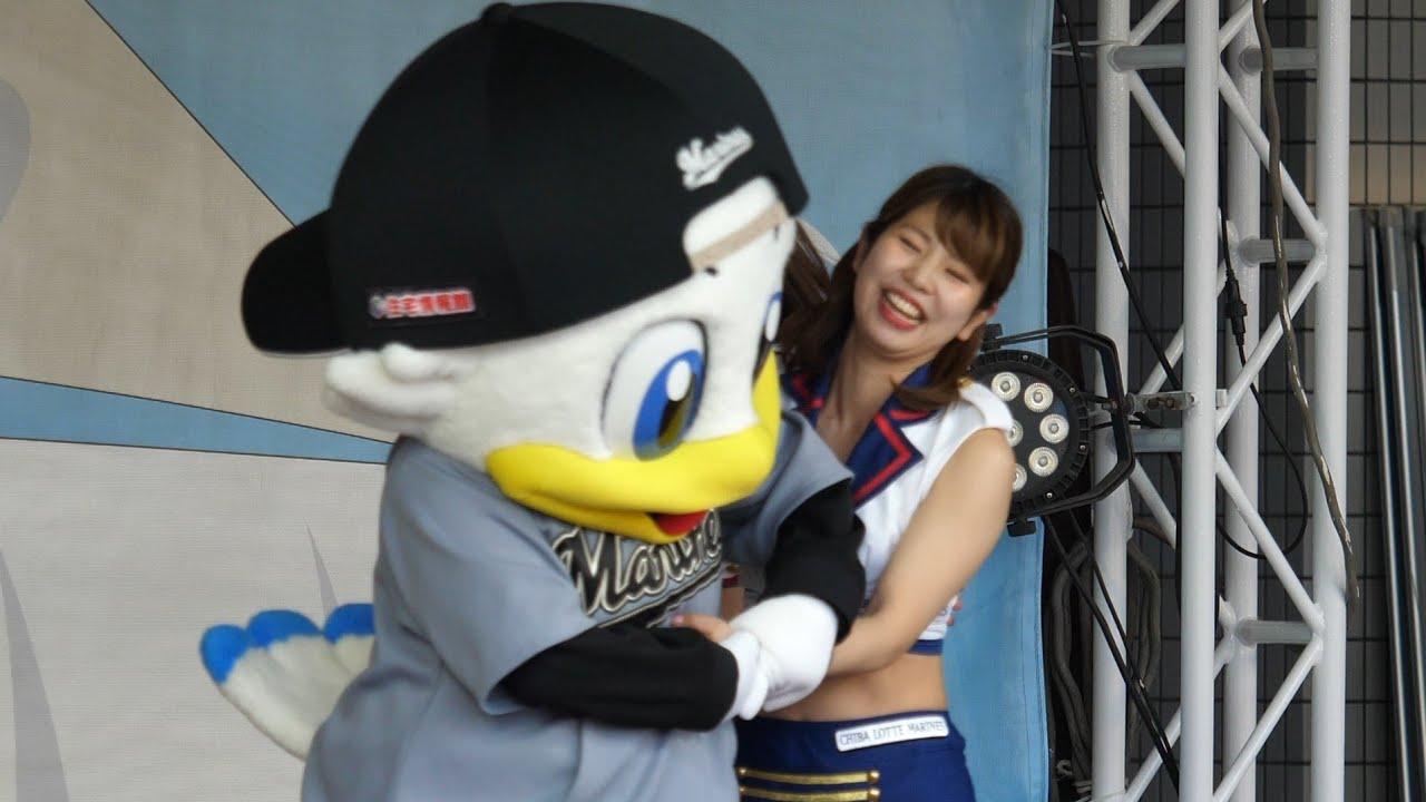 ズーちゃん時間切れだよ。気合いいれてガンガン捕獲しまくる。「エイジアエンジニア – 上のほうへ」Japanese baseball cheerleaders & seagull