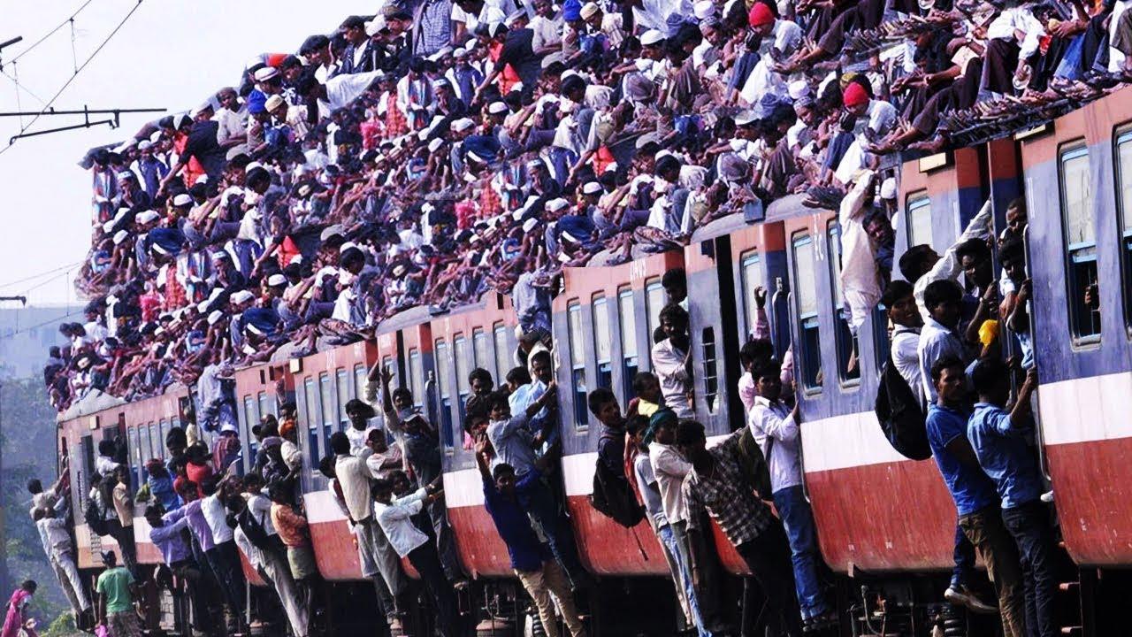 世界の満員電車を比較