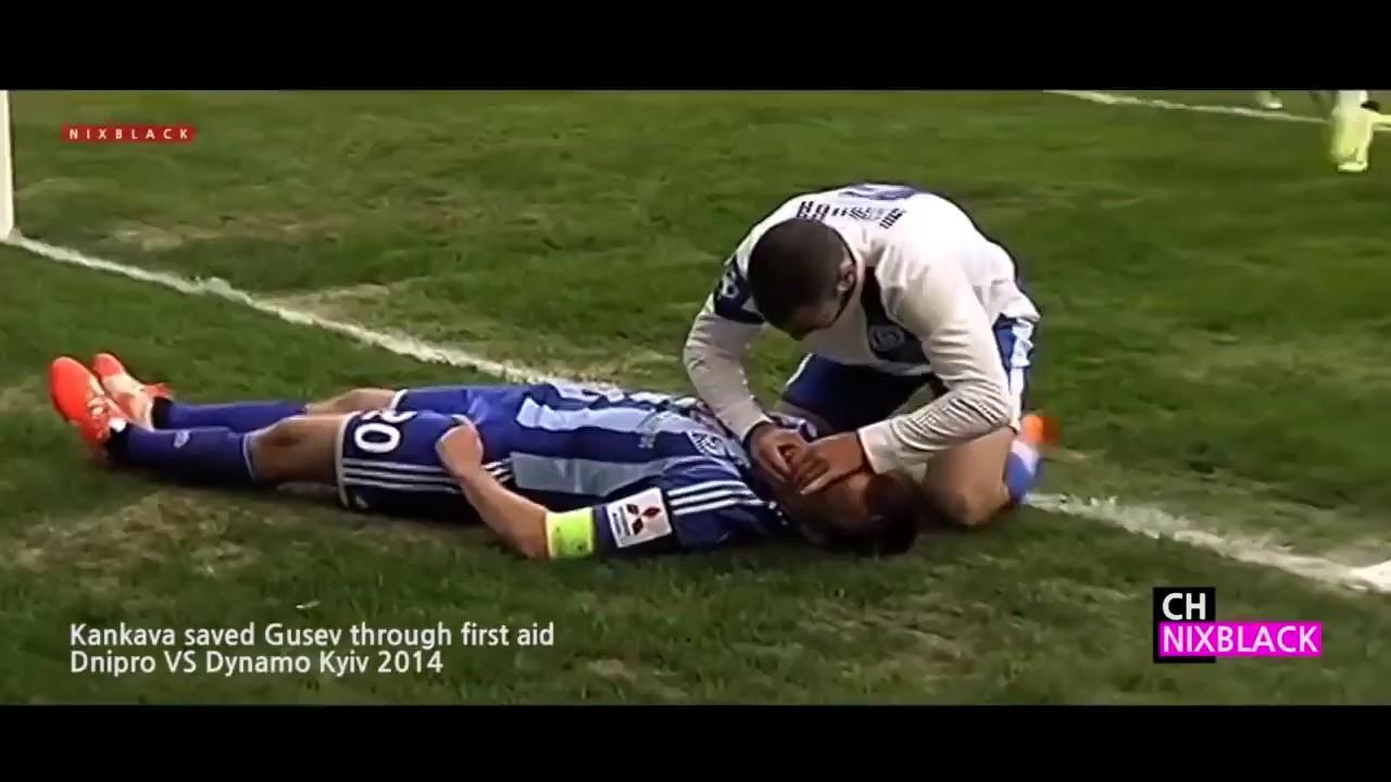 【サッカー】命を救ったヒーローたち【好プレー】