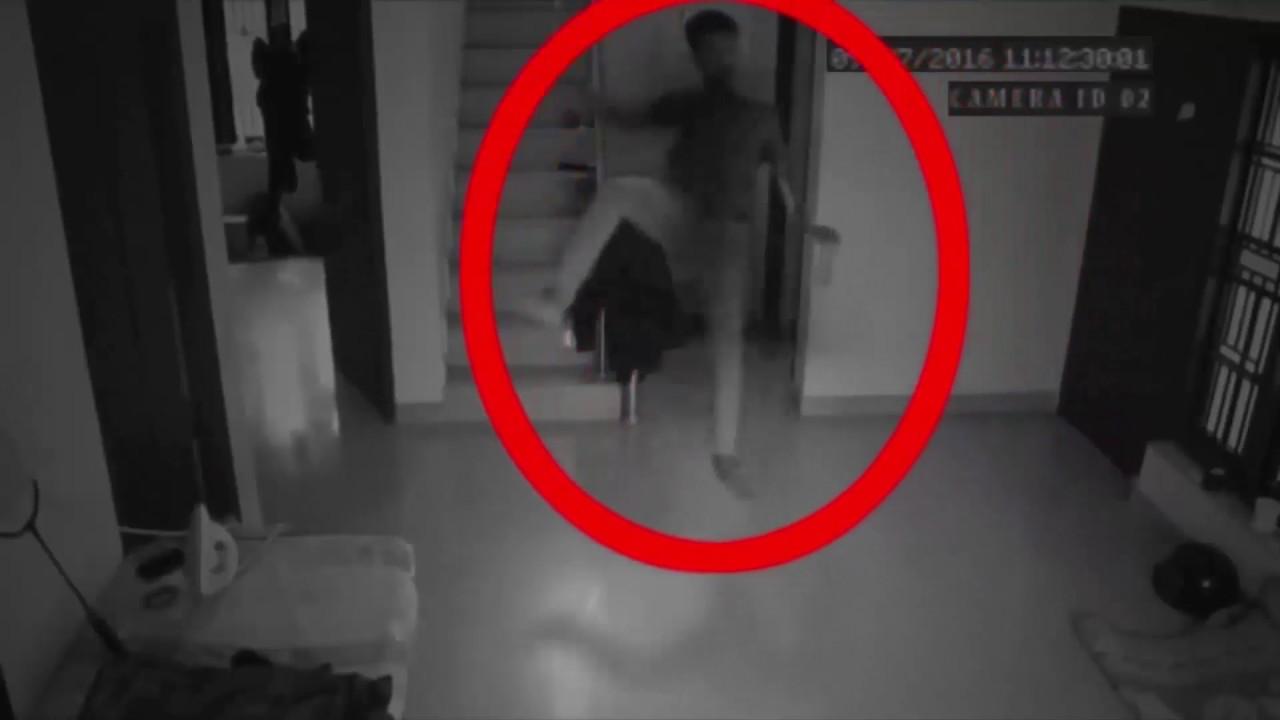 """監視カメラに映った本物の 幽霊 映像 Part 20 """" Top 10 Scary Ghost Attack Footage """""""