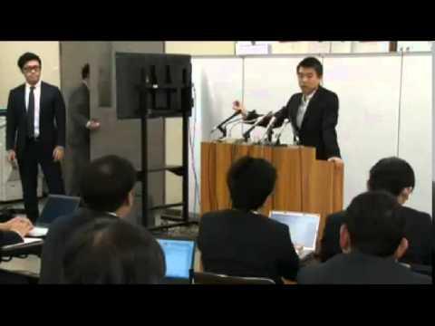 橋下徹vs朝日新聞の南記者『朝日新聞社長を連呼され撃沈』
