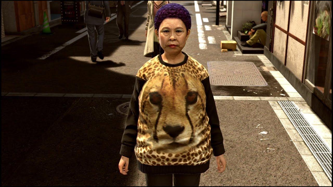 【龍が如く極2】最強の男桐生一馬、大阪のおばちゃんに大敗
