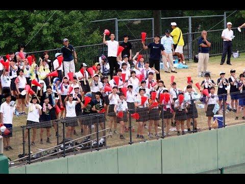 女子高生が右に左に走って「愛してる!」と叫ぶ微笑ましい高校野球応援~小金高校 2017~
