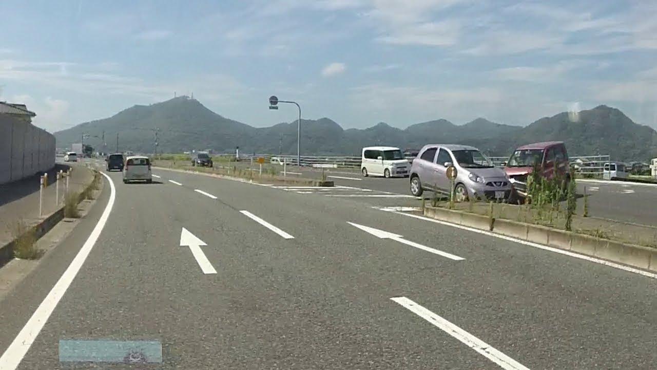 (無音) ドラレコ映像 『交通事故の恐怖…』 KEWOOD DRV-410