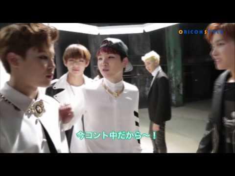 シュガとジェイホープのコントを邪魔するジミン!? 防弾少年団(BTS)MV撮影メイキング映像