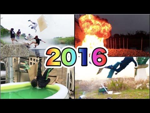 すしらーめん2016年【総集編】 空を飛ぶ事に成功した!!