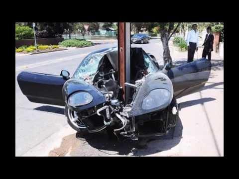 「衝撃」車のありえない衝突事故画像 閲覧注意!